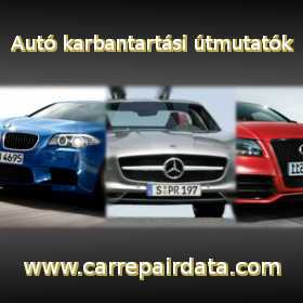 Autó Javítási és Karbantartási Útmutató